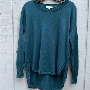 Madewell High Low Sweater